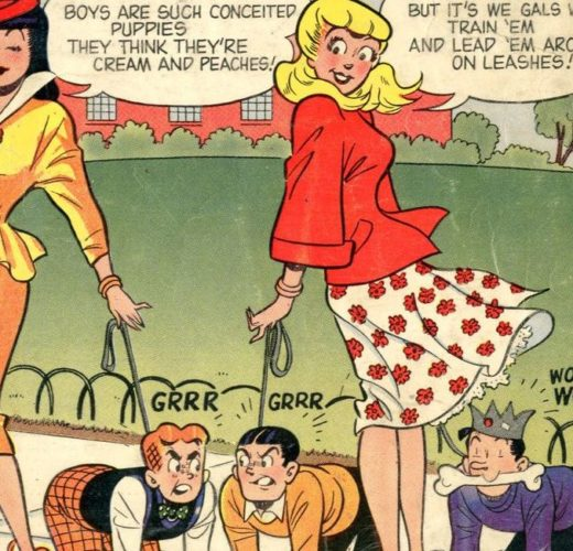 Betty & Veronica's Pets ~ Archie