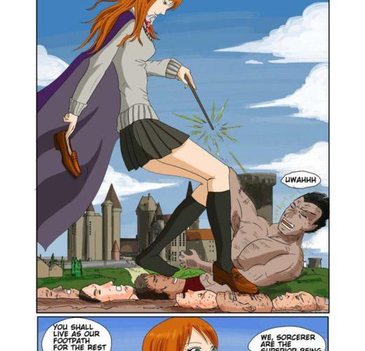 Ginny Weasley Trampling ~ Harry Potter