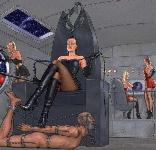 Starship Dominatrix ~ SciFi Femdom