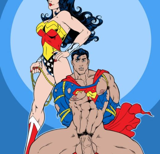 Wonder Woman Dominates Superman ~ DC Comics