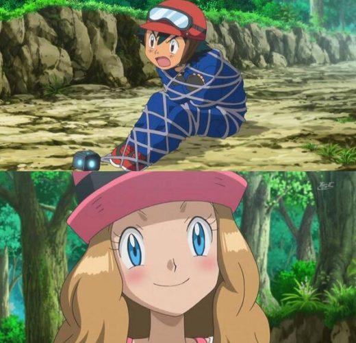 Serena x Ash ~ Pokemon
