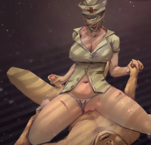 Bubble Head Nurse ~ Silent Hill 2 Femdom