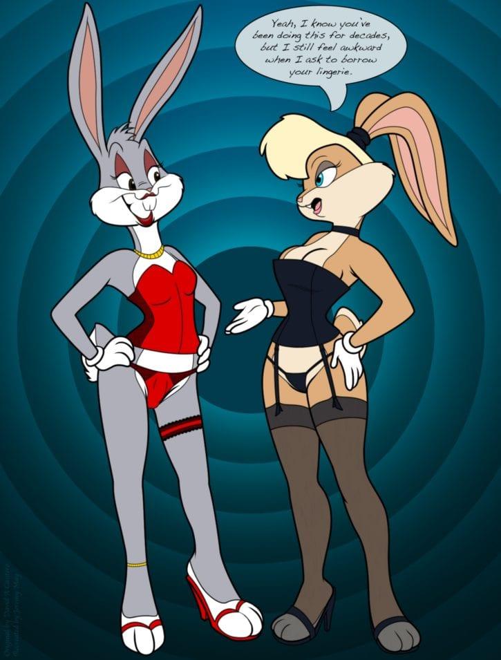Bugs Bunny Feminization ~ Looney Tunes Femdom by Saran-Rape