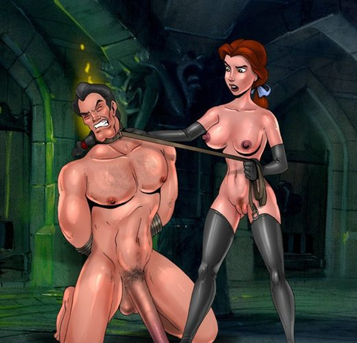 Beauty and the Beast Femdom by Toon BDSM