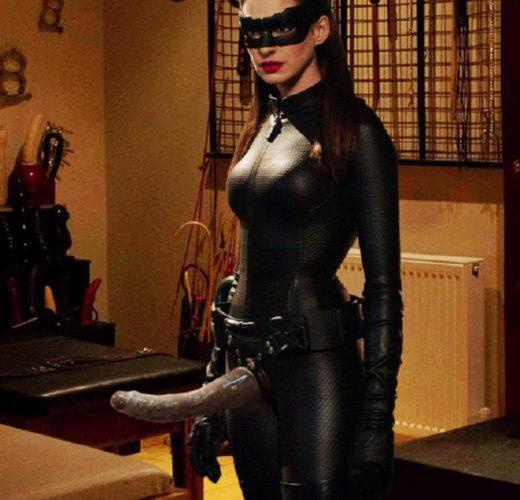 Catwoman's Strap-On ~ Dark Knight Femdom