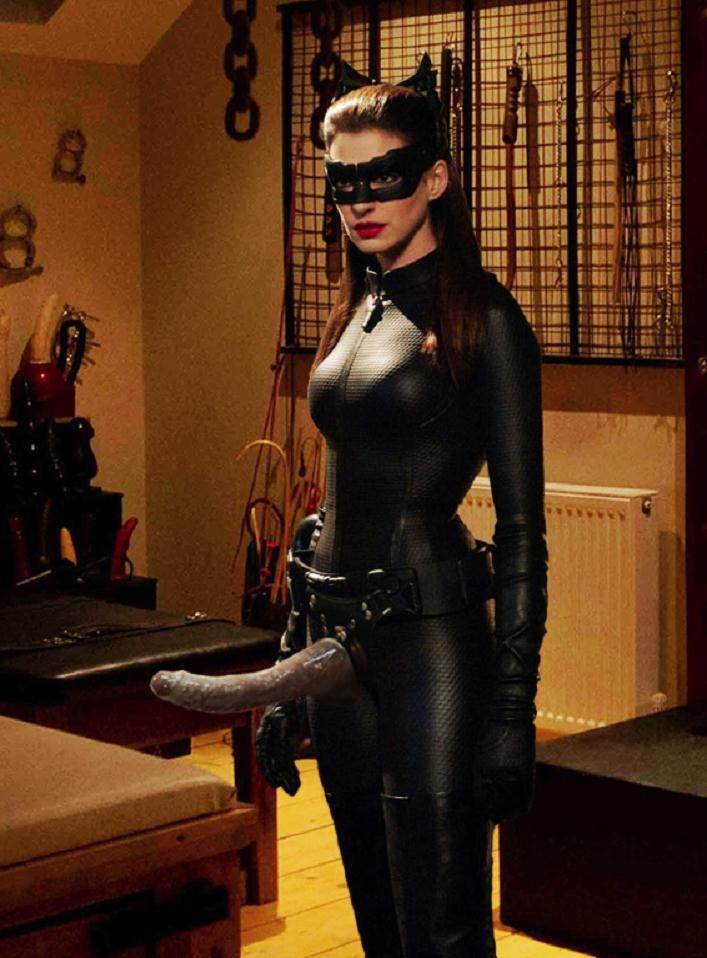 Catwomans Strap-On ~ Dark Knight Femdom - Rule 34 Femdom Club