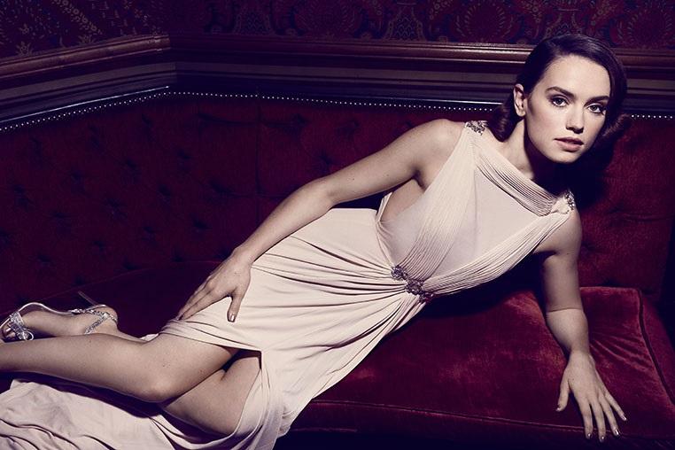 Daisy Ridley is a Queen