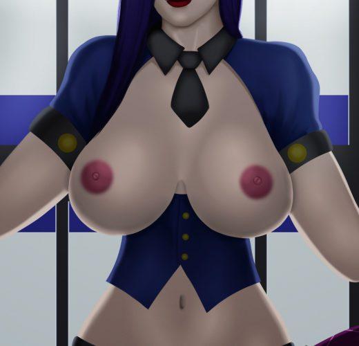 Caitlyn Pegging ~ League of Legends Femdom