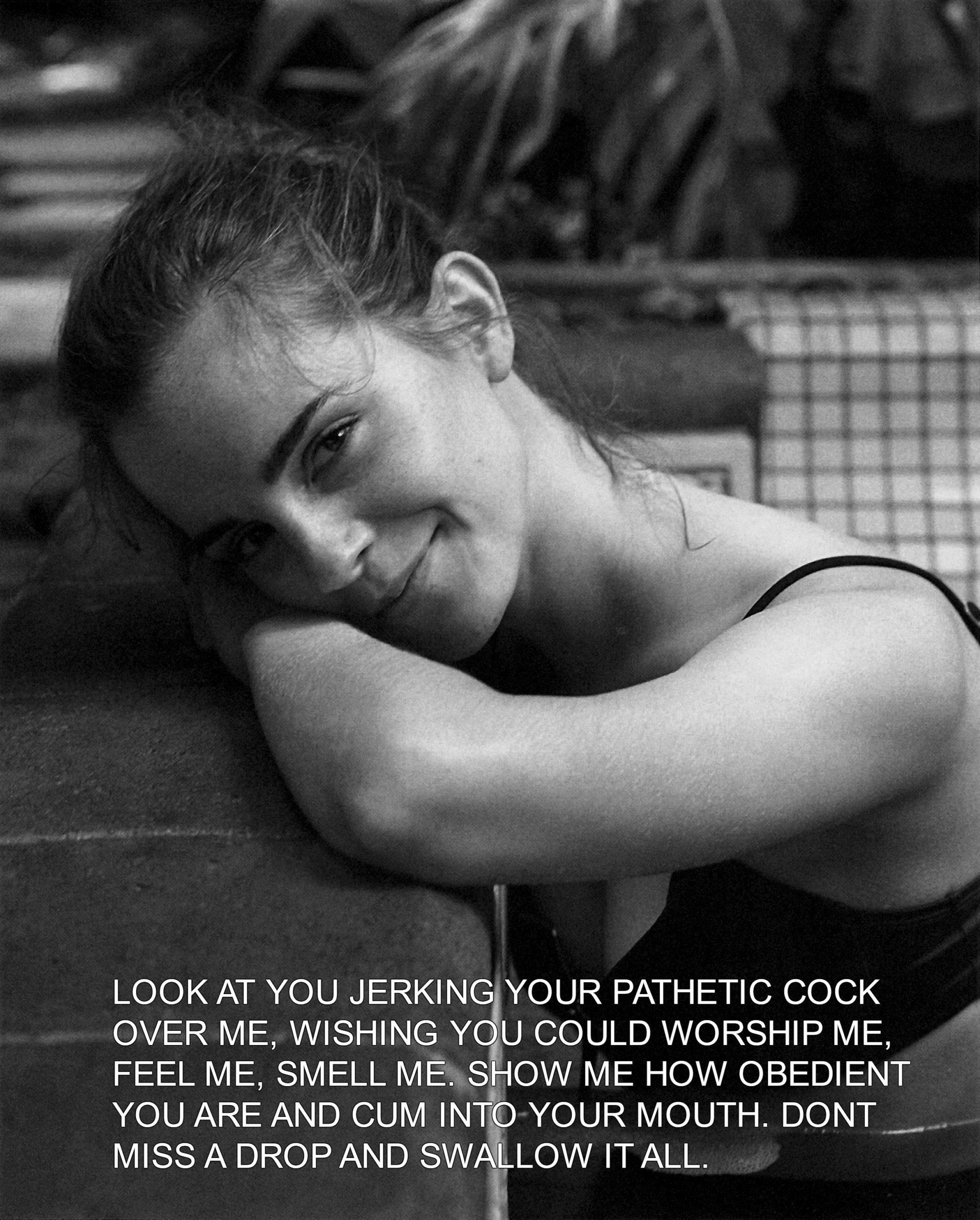Emma Watson Femdom Captions
