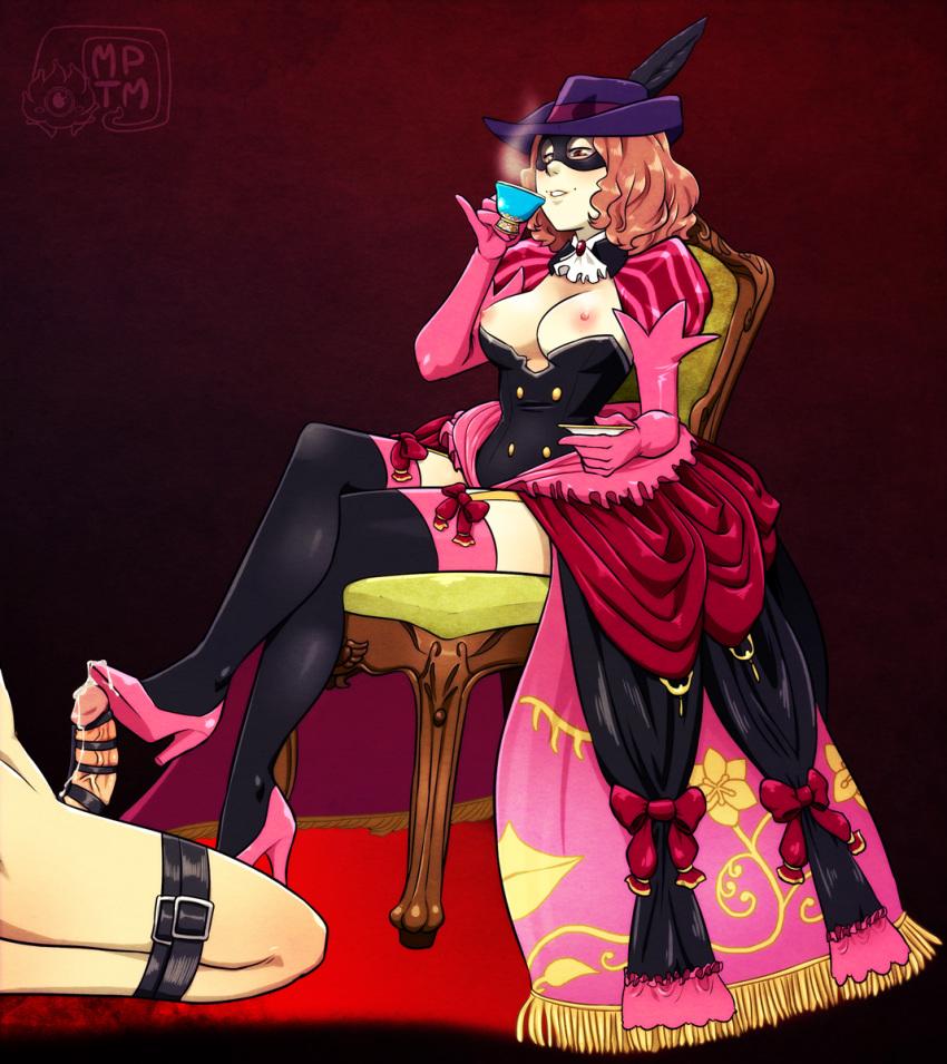 Haru Okumura Foot Dom ~ Persona 5 Femdom