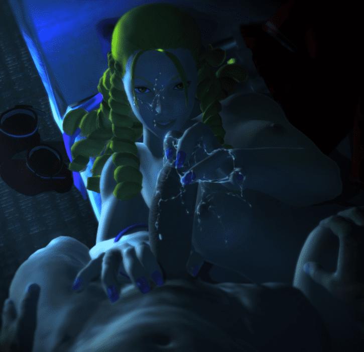 Karin Kanzuki Milking ~ Street Fighter V Femdom
