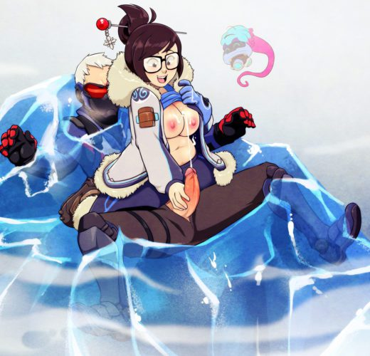 Mei Traps Soldier 76 ~ Overwatch Femdom