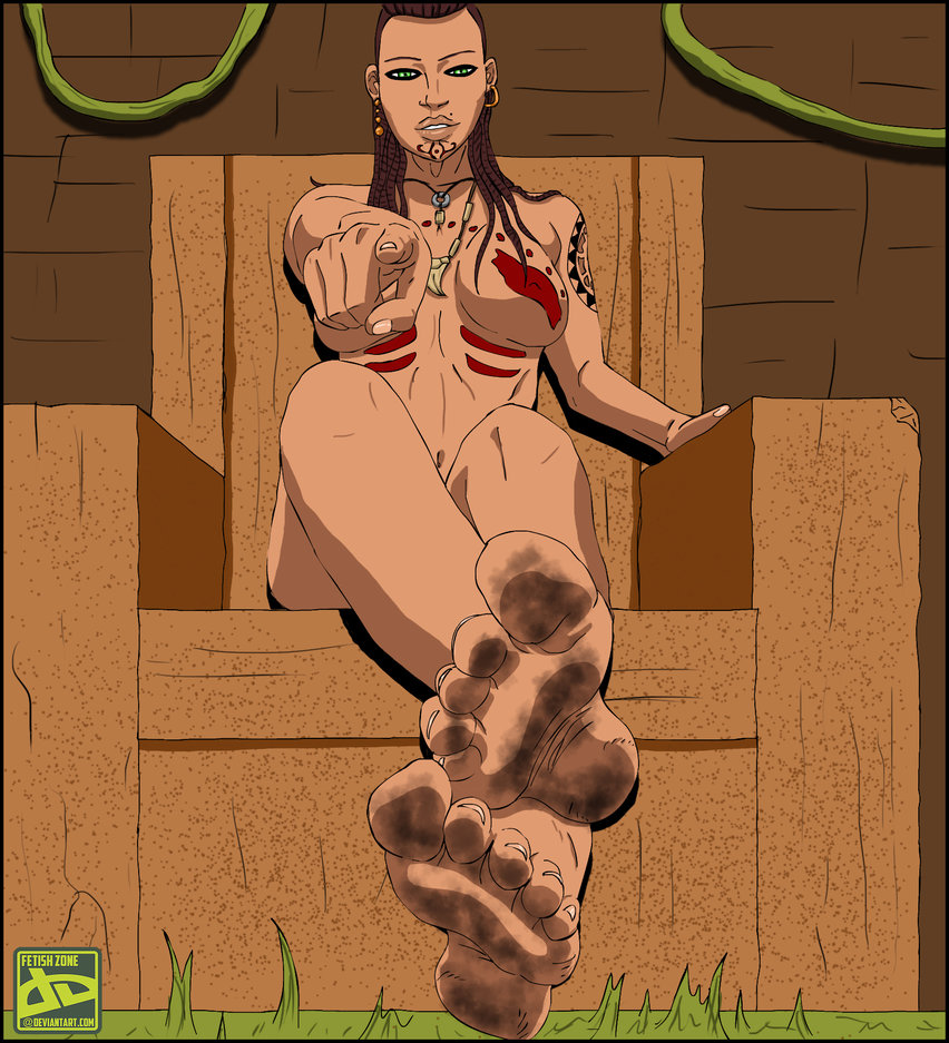 Queen Citra's Dirty Feet ~ Far Cry 3 Femdom by Fetish Zone