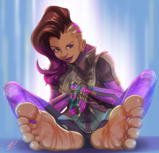Sombra's Feet ~ Overwatch Femdom