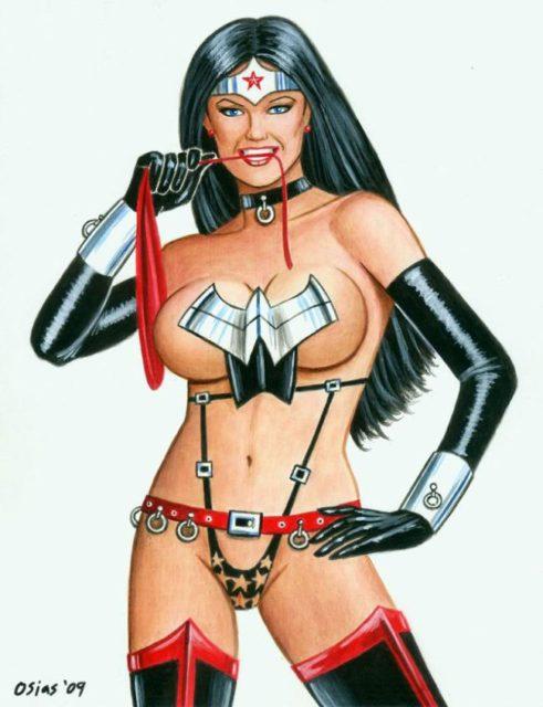 Wonder Woman Mix ~ DC Comics Femdom