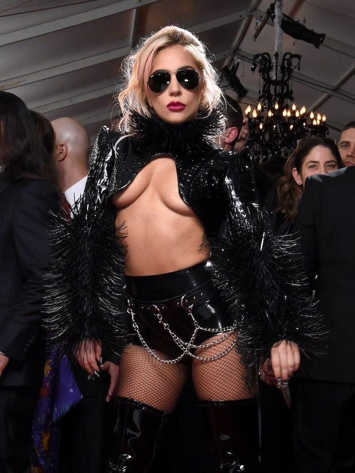 Dominatrix Outfit Lady Gaga ~ Celebrity Femdom