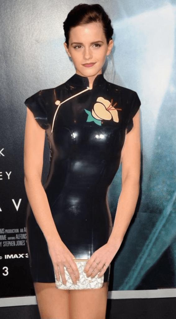 Emma Watson: Latex Goddess ~ Celebrity Femdom