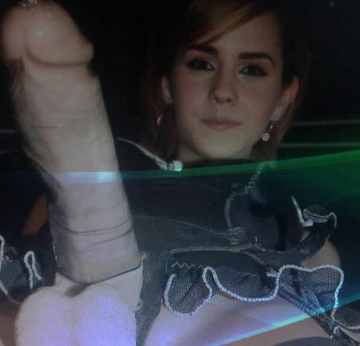 Emma Watson Strap-On ~ Celebrity Femdom