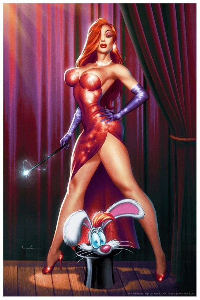 Jessica Rabbit Dominatrix Mix ~ Disney Femdom