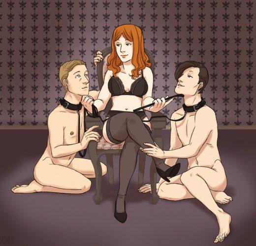 Mistress Amy Pond ~ Doctor Who Femdom