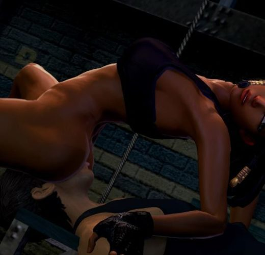 Pharah Facesitting ~ Overwatch Femdom [VIDEO]