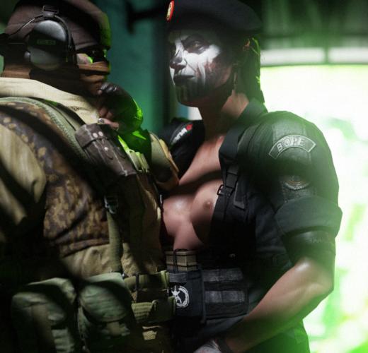 Caveira's Interrogation ~ Rainbow Six: Siege Femdom