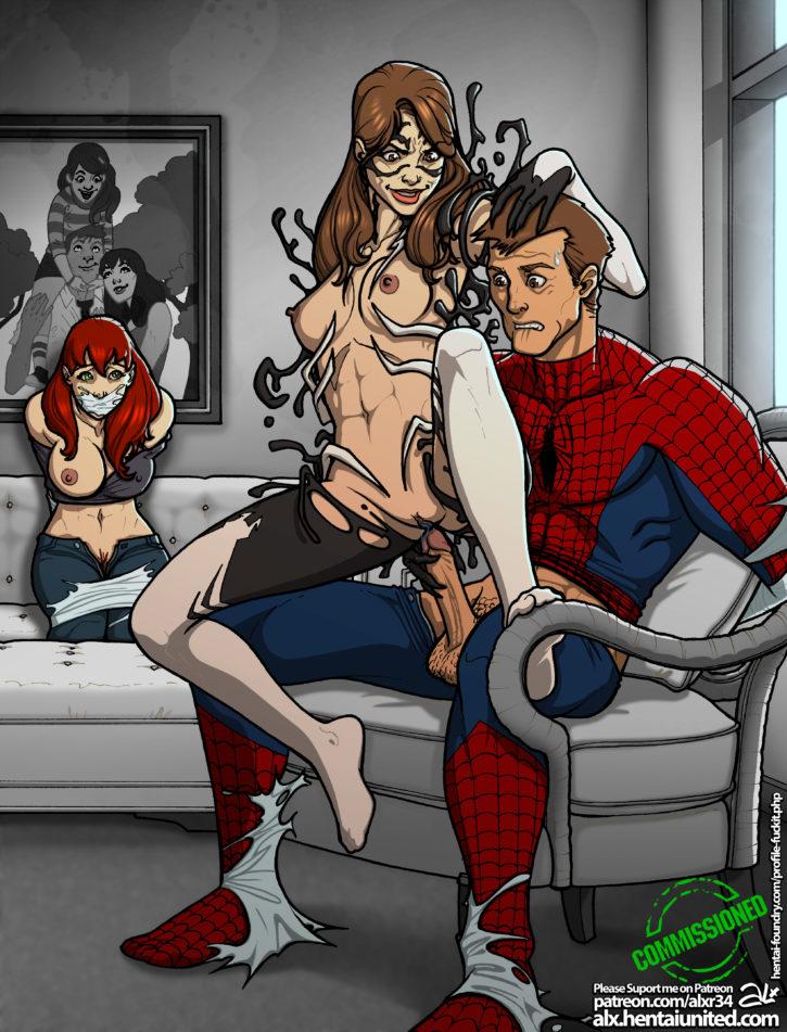 Spiderman Rule 34