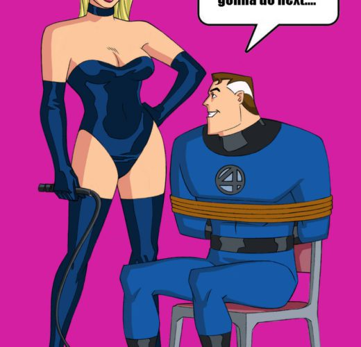 Dominatrix Sue Richards ~ Fantastic Four Femdom