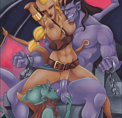 Gargoyles ~ Cartoon Femdom Mix