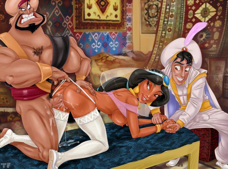 Jasmine Cuckolding ~ Aladdin Femdom
