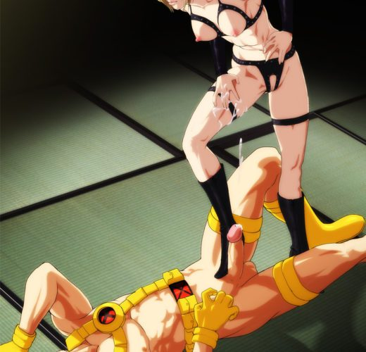 Nina Williams Dominates Cyclops ~ Rule 34 Crossover