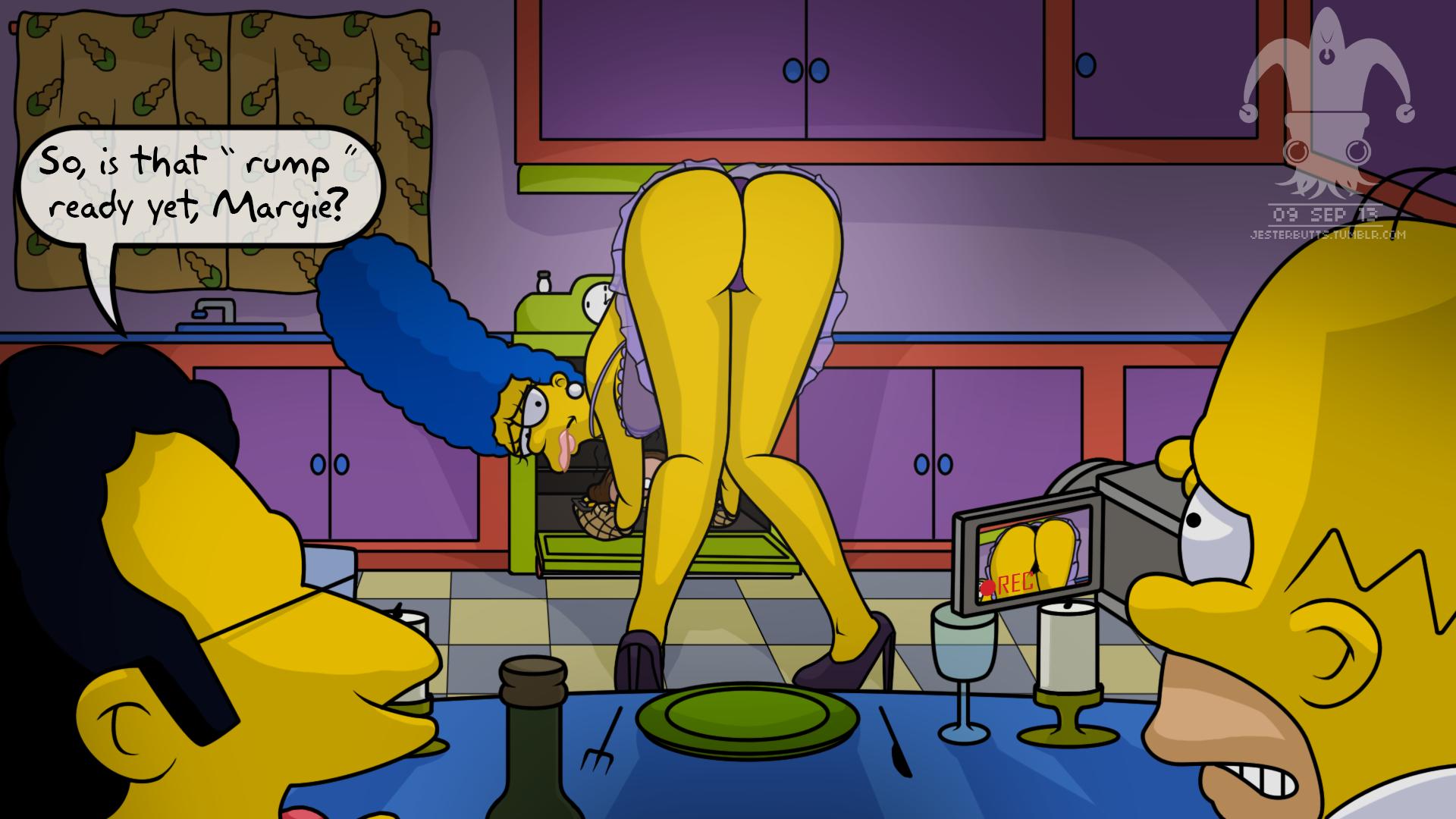 Simpsons hentai sample