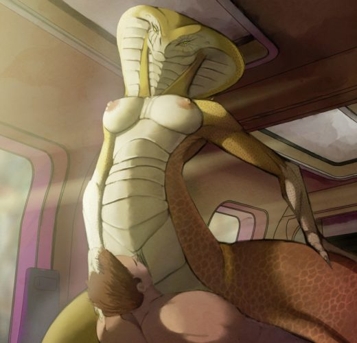 Vipers Dominate Human Soliders ~ XCOM Femdom [Gallery]