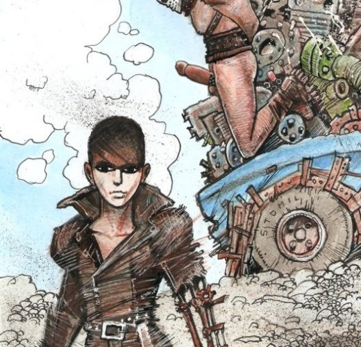 Furiosa's Slave ~ Mad Max: Fury Road Femdom