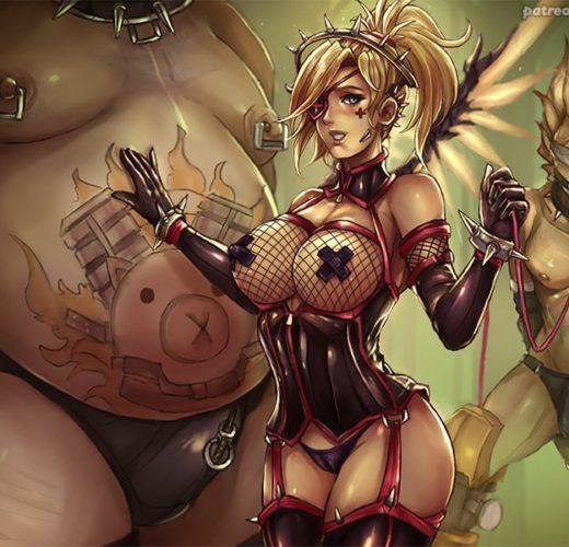 Dominatrix Mercy ~ Overwatch Femdom