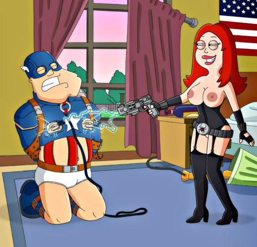 Francine and Stan Smith Play Dress Up ~ American Dad Femdom