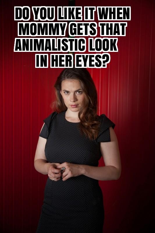 Hayley Atwell Femdom Captions