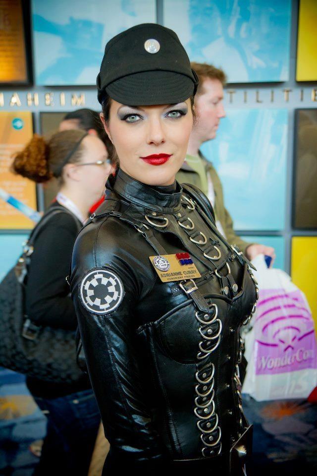 Adrianne Curry as an Imperial Dominatrix ~ Star Wars Femdom