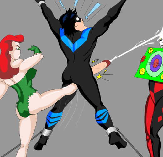 Poison Ivy and Harley Quinn Play a Game ~ DC Femdom by Superblast