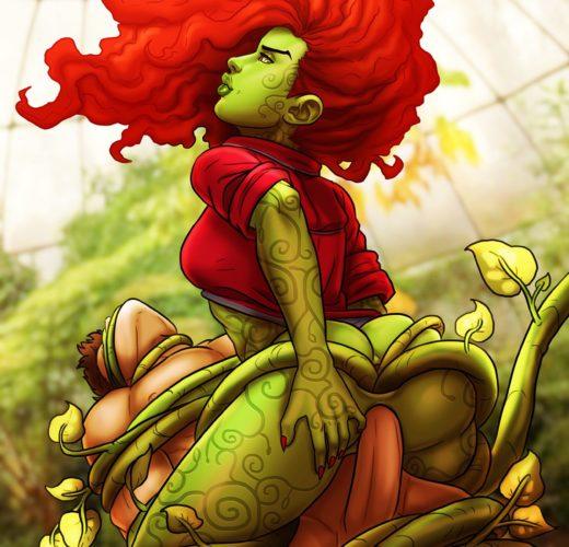 Poison Ivy Riding ~ DC Femdom by pumpkinsinclair