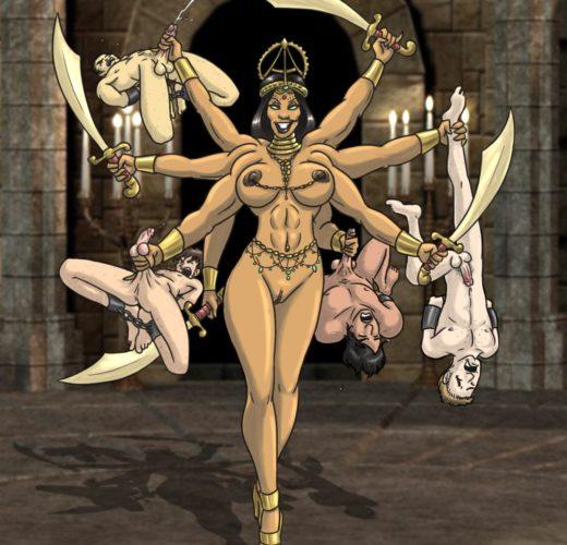The Goddess Kali ~ Mythology Femdom by Sorenutz