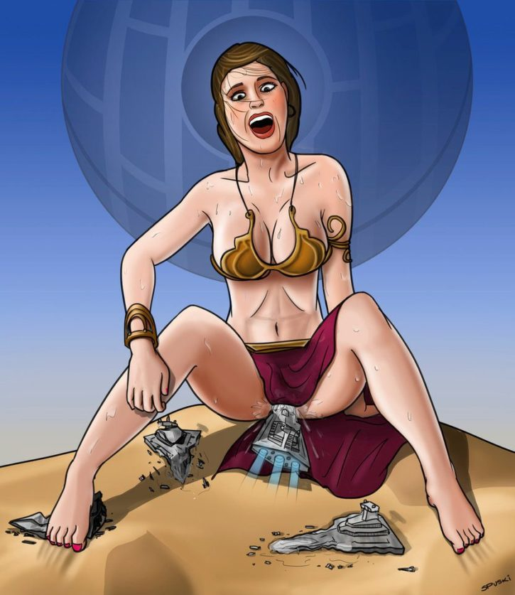 Giantess Slave Leia ~ Star Wars Femdom by Spuski