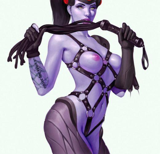 Dominatrix Widowmaker ~ Overwatch Femdom Porn by Mavezar