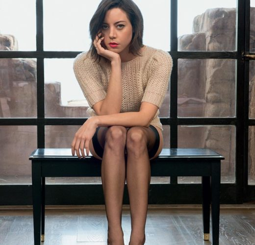 Aubrey Plaza's Feet ~ Celebrity Foot Gallery