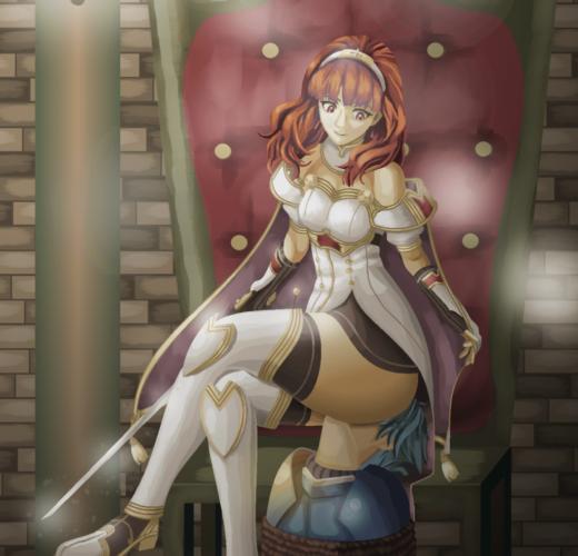 Celica Facesitting ~ Fire Emblem: Echoes Femdom