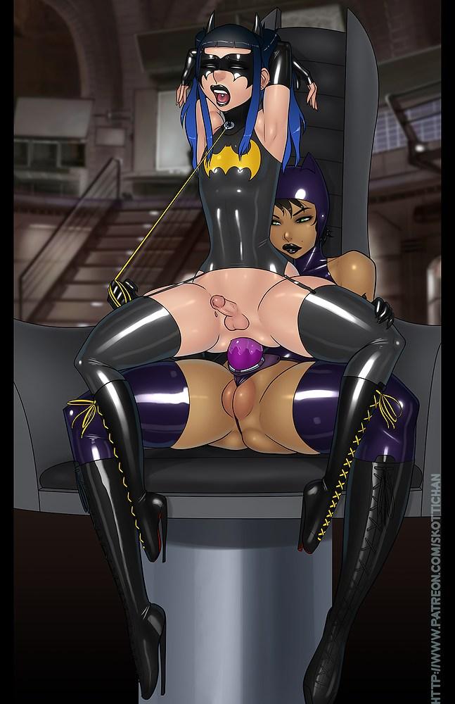 Feminized Justice League ~ DC Comics Femdom Gallery by Skottichan