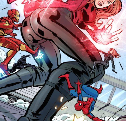 Giantess Wanda ~ Avengers Femdom Porn by Oscar Celestini