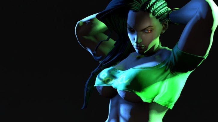 Laura Destroys Her Victims with Thiccness ~ Street Fighter Femdom by BlueAurora3
