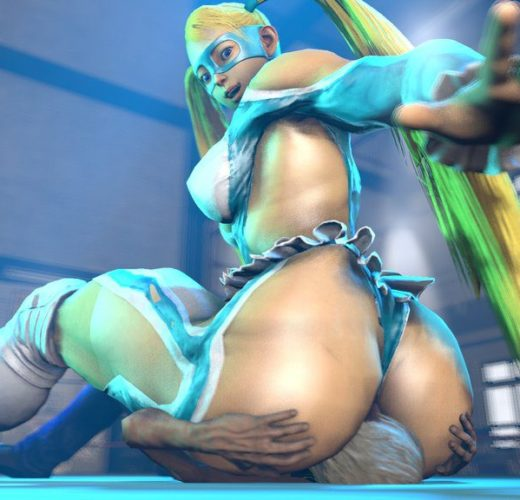 No Escaping R. Mika's Smothering ~ Street Fighter Femdom by BlueAurora3