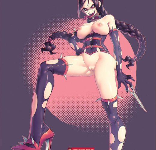 Dominatrix Genocide Jack ~ Danganronpa ~ By SuperSatanSon